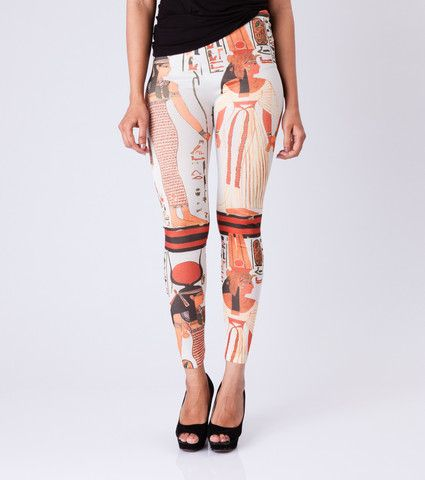Egyptian Story Leggings By ESL. Price: Rs. 350.00 Visit: http://bit.ly/1MEmoG6