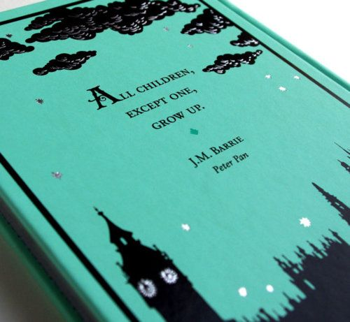 Peter Pan by J. M. Barrie: Peter Pan Book, Pan Booksi, Peter O'Tool, Peterpan Covers, Beauty Book, My Children, Favorite Book, Book Covers, Leather Book