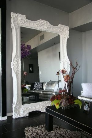 Large picture frame mirror - Now that's a Mirror.-indulgy.com