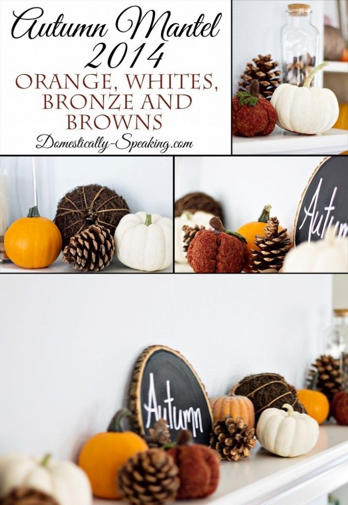Come see our 2014 Autumn Mantel!