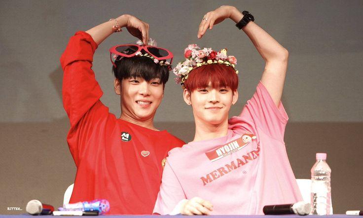 E-Tion & HyoJin - ONF {AroundTheMoonBin}