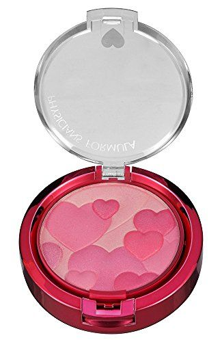 Physicians Formula Happy Booster Glow and Mood Boosting Blush, 0.24 oz., Pink:   Ultra-soft and bendable blushing powder features a fresh and vibrant mix of blushing tones infused with a pop of color to create a healthy glow. Multi-reflective pearls provide a soft iridescence to highlight contour and add radiance to cheeks. Infused with our happy boost blend, featuring happy skin* and euphoria, natural plant extracts which have been shown to promote a feeling of happiness by mimicking ...