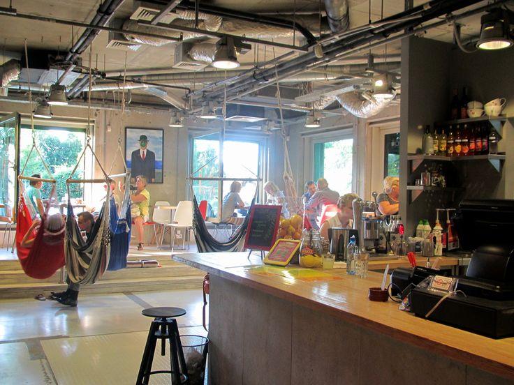 interesting cofe in warsaw university library