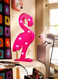 LED-Deko Flamingo zum Aufstellen & Aufhängen :)