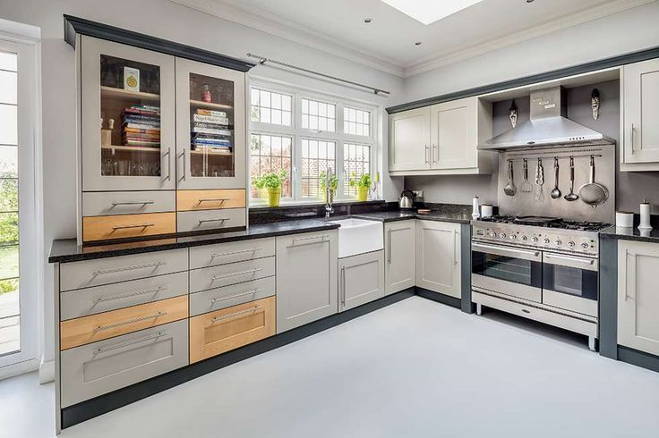 Best Cabinets Painted In Hardwick White By Farrow Ball Bold 640 x 480