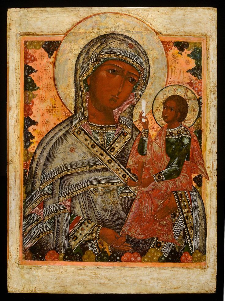Shuiskaya Mother of God - Jan Morsink Ikonen