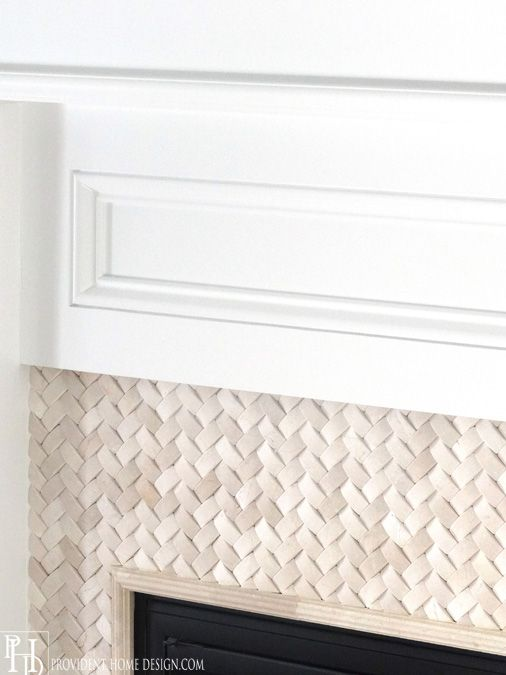 Fireplace Surround...tile!!                                                                                                                                                                                 More
