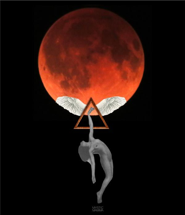 Once-in-a-Generation Supermoon Eclipse - FULL MOON in Aries + Blood Moon Total Lunar ECLIPSE Sept 27th 2015~