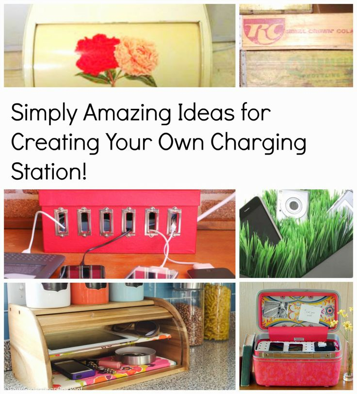 House Revivals: DIY Charging Stations For Your Electronic Devices