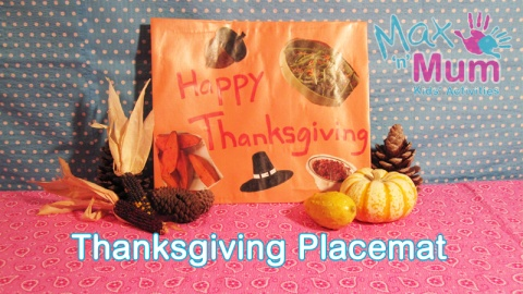 How to Make a Thanksgiving Placemat from Max 'n' Mum Kids' Activities: Kid Activities, Kids Birthday, Schools, Teacher Classroom Stuff, Mums Kids, Kids Activities, Kids Placemat, Preschool Crafts, Camping Crafts