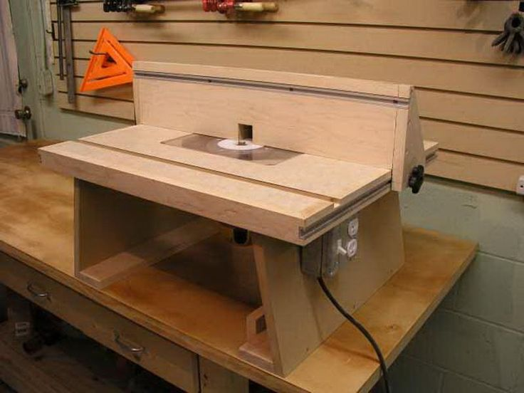 De 294 b sta router table plans bilderna p pinterest for How to make a router table stand