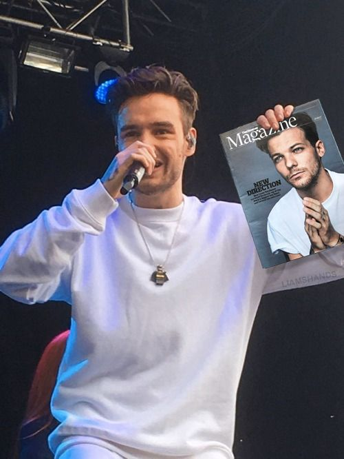 Liam Payne Holding Things