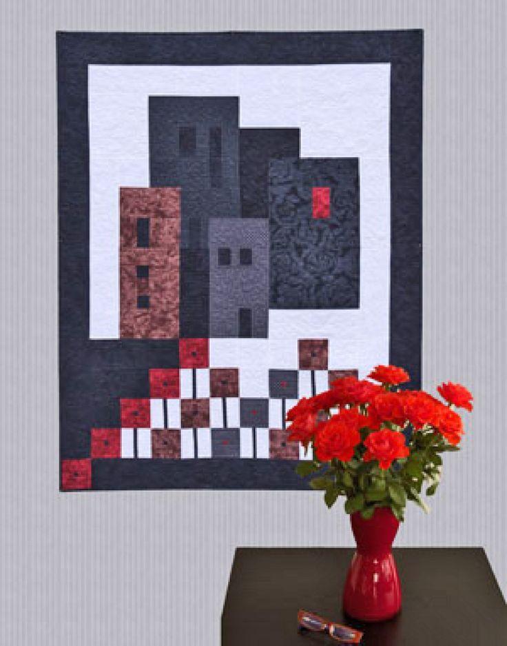 """""""City Flowers"""" - Mønster og stoffpakker på www.peggy.no"""