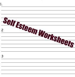 self esteem activities