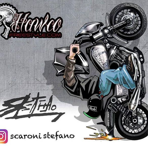 Badass Motorcycle Artwork By Scaronistefano Dessin Moto Dessin