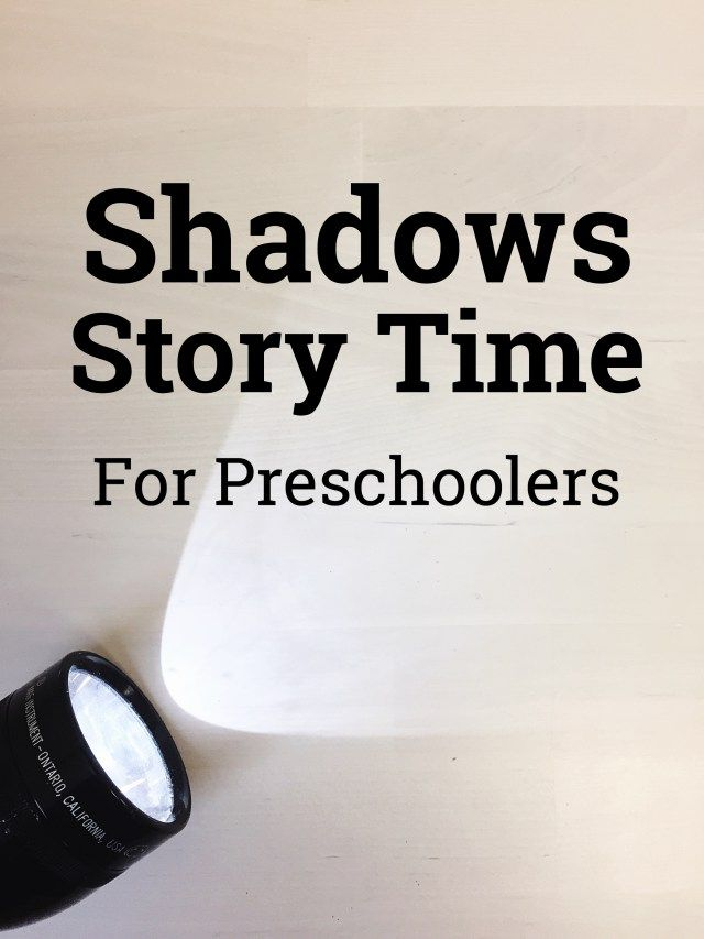 Shadows Story Time for Preschoolers  Shadow | Groundhog's Day | Preschool