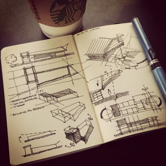 Process #coffeesketch | 02.15.12