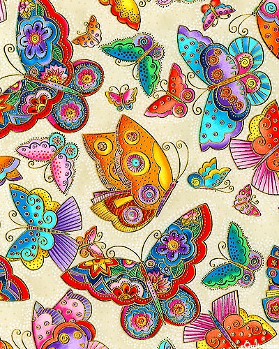 new Laurel Burch fabric
