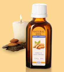 Almond Oil is great for hydrating, and soothing skin!  Wonderful for massages and cuticles!  Great carrier oil if you want to mix with other essential oils such as Lavender for relaxation and sleep or Jasmine to put you in the mood!  Mix with Eucalyptus and massage your baby's back when dealing with cough and cold during flu season!  So many uses!  I have a friend who uses it for shaving his face.  Smells amazing!