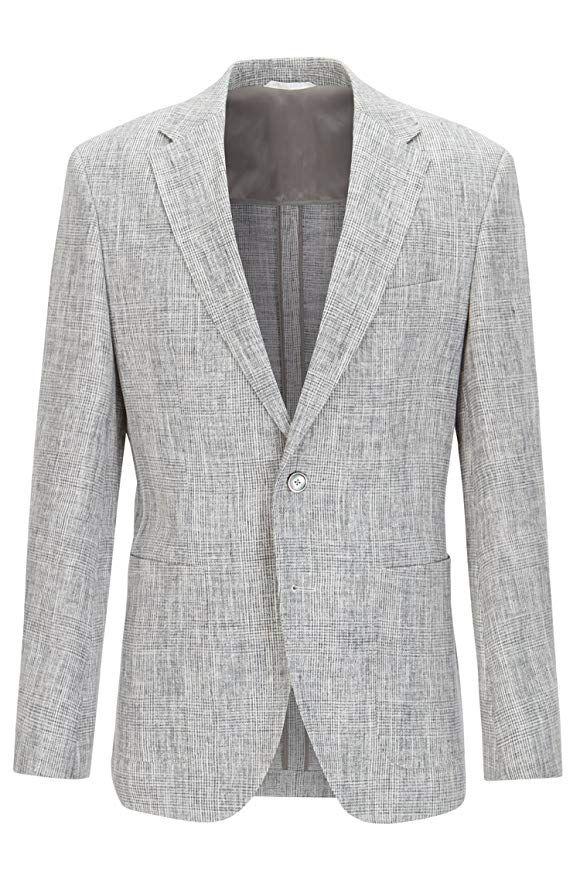 9246142fb [Affiliate] Hugo Boss Men's Janson Trim Fit Pure Linen Casual Sport Coat -  42R