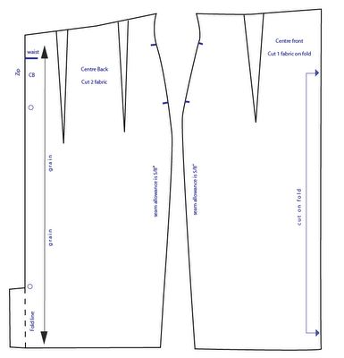 High Waisted Skirt pattern/how to    http://marmaladekiss.blogspot.com/2011/03/high-waisted-pencil-skirt-pattern.html