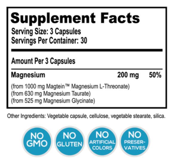 Buy MagTech - Optimal Magnesium Supplement w/ L-Threonate Online | Natural Stacks liked then like it
