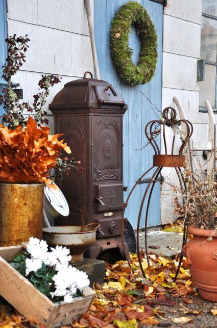 Jesenný dekor vo vidieckom štýle | Vidiecky štýl