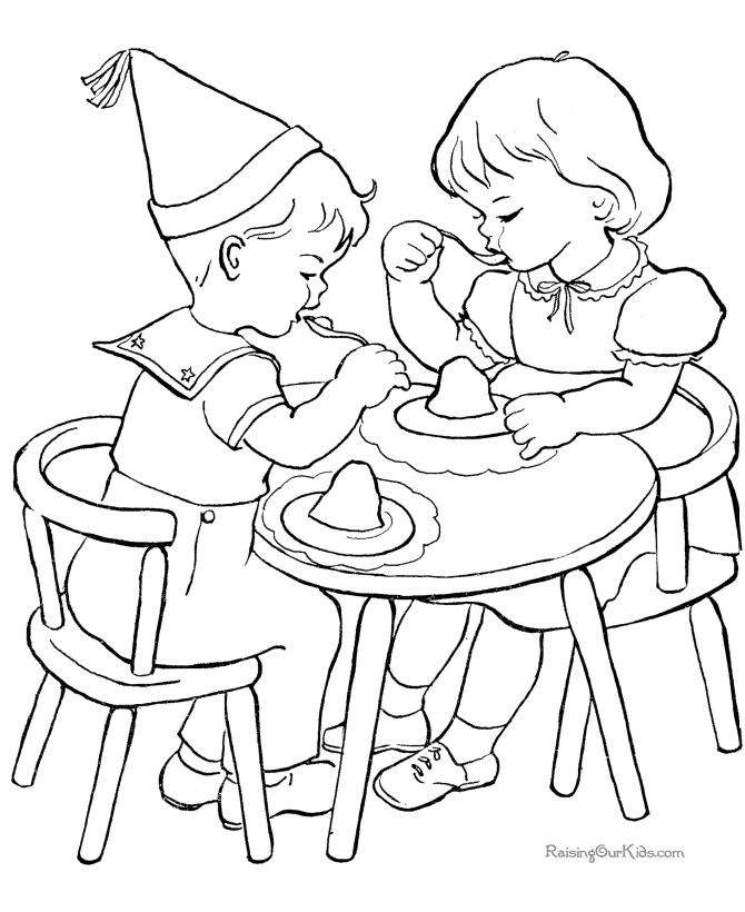 Kids Valentines Day Coloring Pages