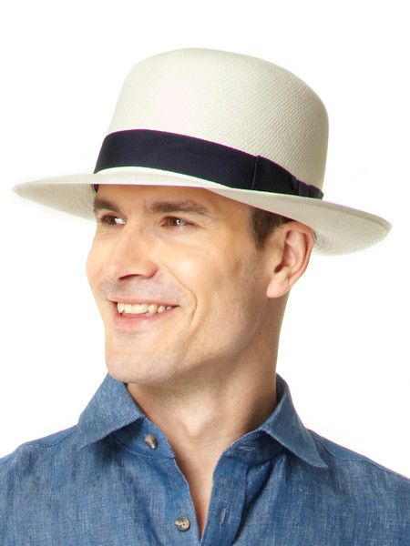 Mens Foldable Panama Hat