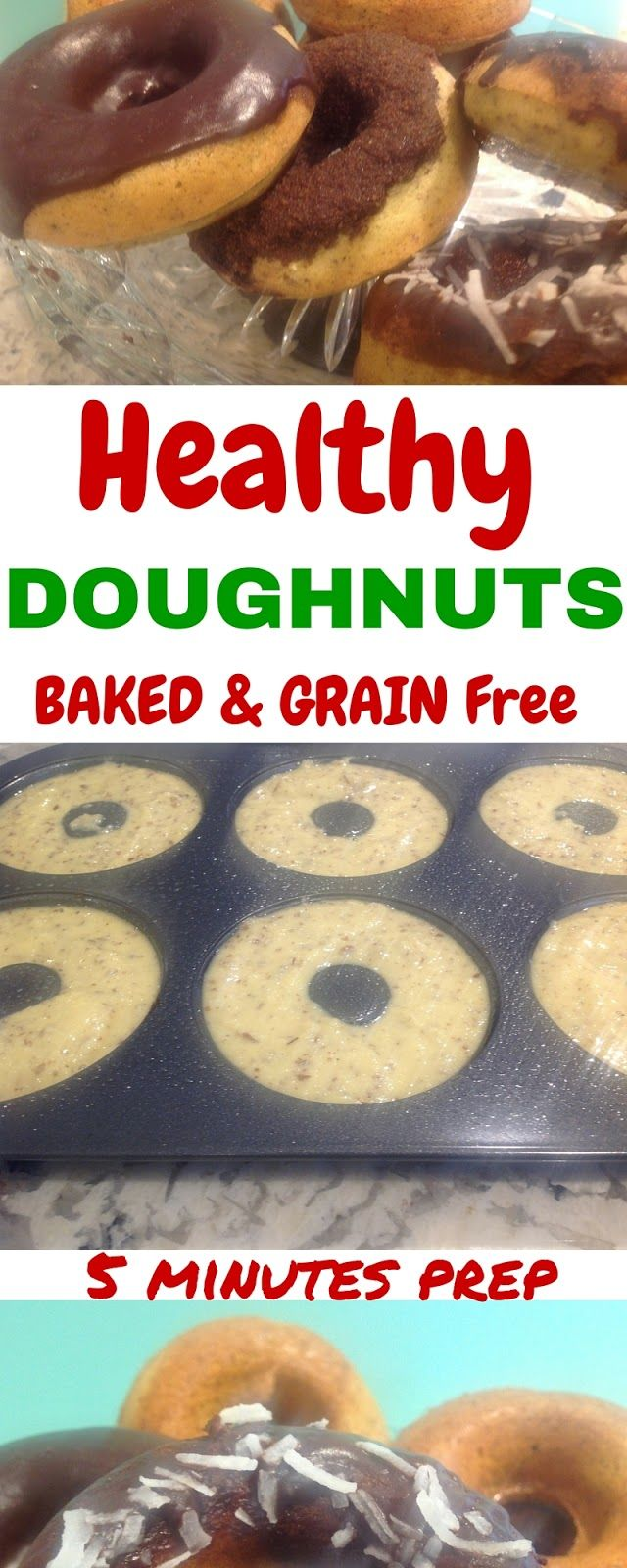 Gluten Free A-Z : Guilt Free Baked Donuts - GF and Easy for National Donut Day
