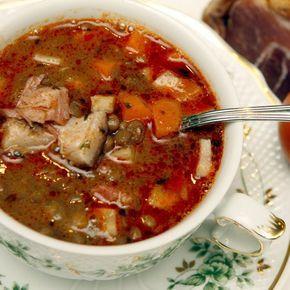 Egy finom Lencseleves tárkonnyal és füstölt hússal ebédre vagy vacsorára? Lencseleves tárkonnyal és füstölt hússal Receptek a Mindmegette.hu Recept gyűjteményében!