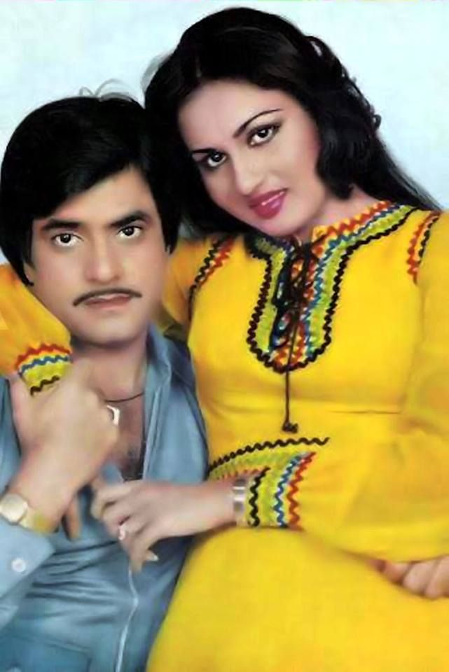 JEETENDRA WITH REENA ROY
