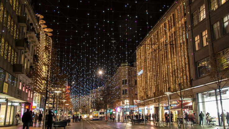 Suíça – Clima de Natal em Zurique