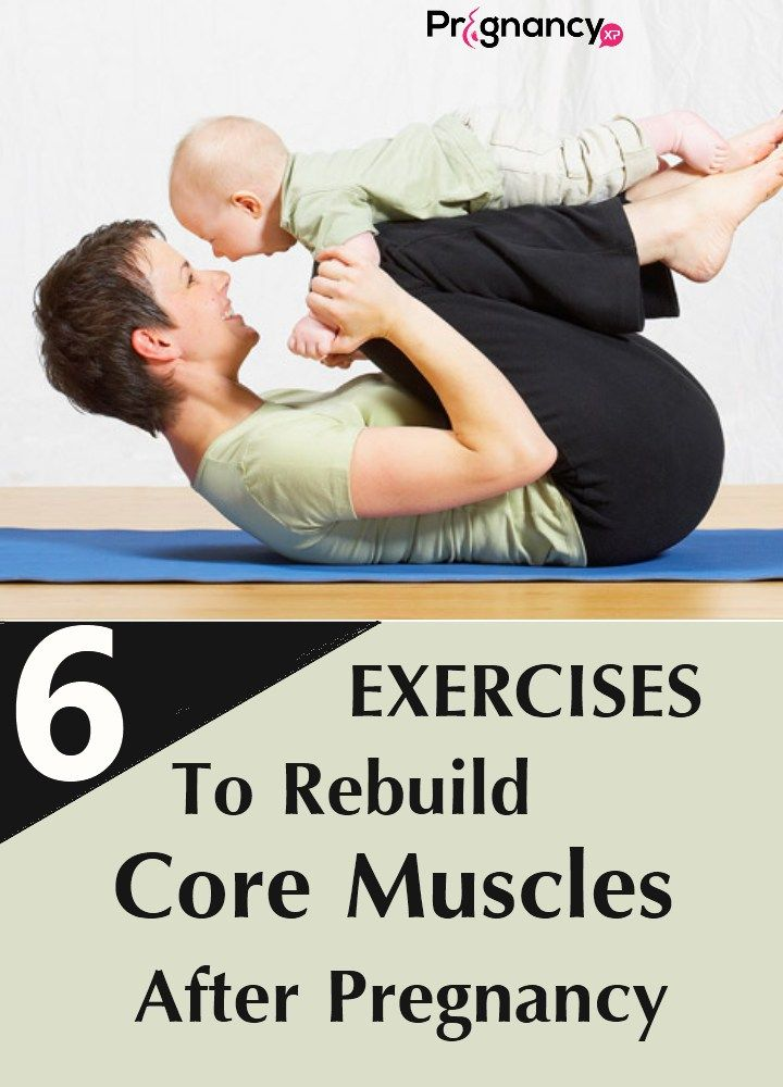 Exercises To Rebuild Core Muscles After Pregnancy