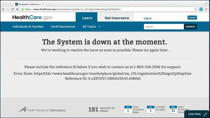 Obamacare Website Down On 'National Youth Enrollment Day'