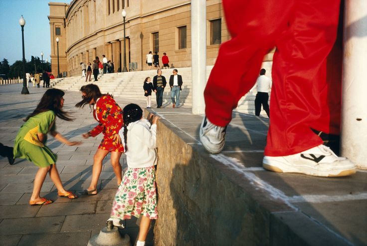 Alex Webb SPAIN. Barcelona. 1992. Magnum Photos Photographer Portfolio