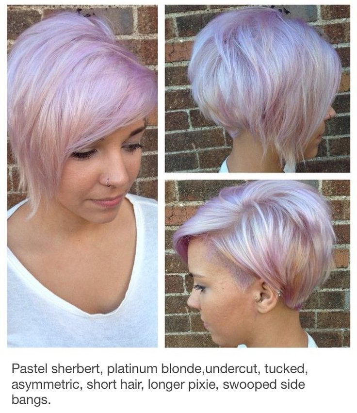 Best 25 Pastel Pixie Hair Ideas On Pinterest Pastel