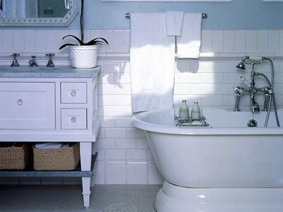 bath this bath features with designs classic tile treatments give it timeless style while modern amenities
