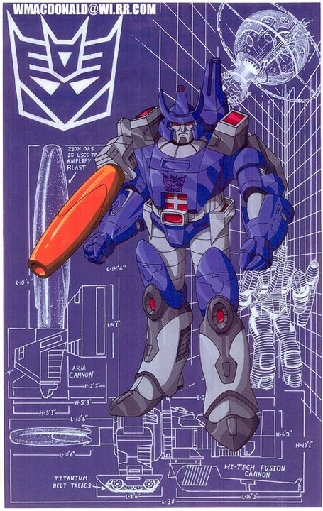 You can never get too old for the original Transformers Galvatron!