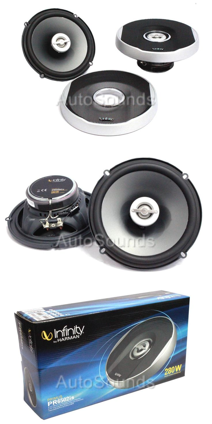 Car Speakers and Speaker Systems: Infinity Pr6502is Primus 280 Watts 6.5 2-Way Coaxial Car Audio Speakers 6-1/2 BUY IT NOW ONLY: $55.34