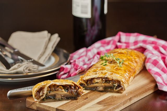 Mushroom Wellington @Alex Sobchak, would you handle the puff pastry ...