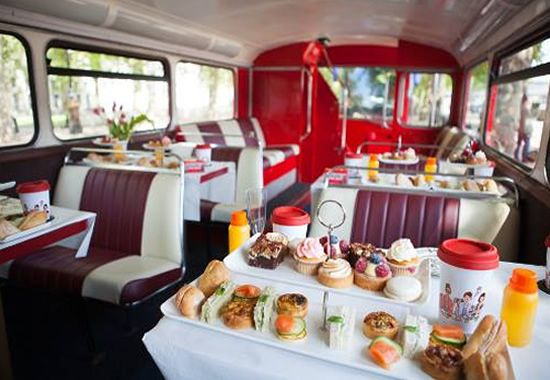 BB Bakery London Afternoon Tea Bus Tour, this looks like GREAT fun!