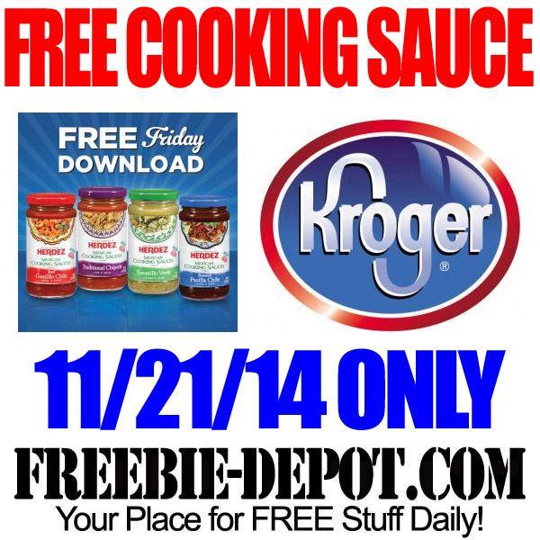 FREE Cooking Sauce at Kroger for Freebie Friday FREE Jar