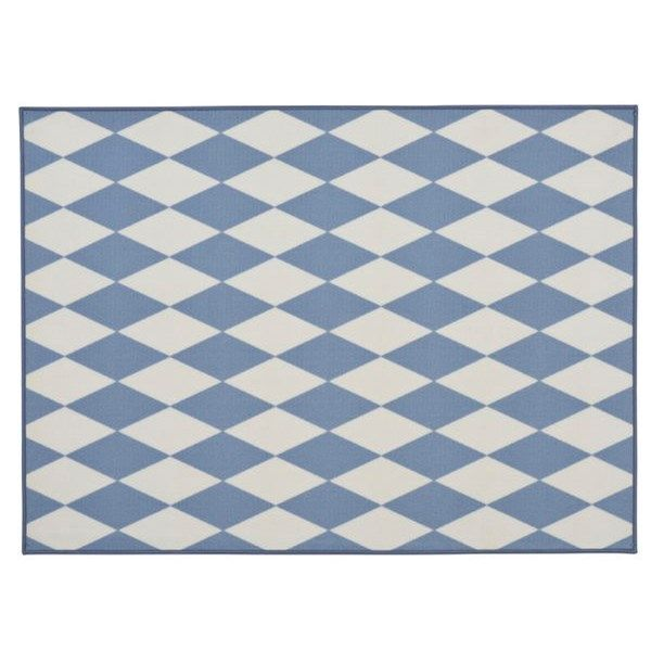Barnmatta Kim 133x185 cm Blå Polyamid - Rumsmattor - Rusta: