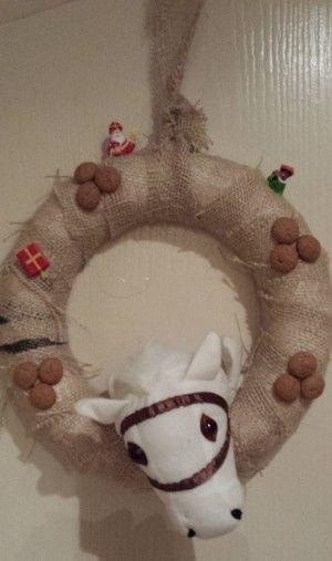 Een krans voor Sinterklaas