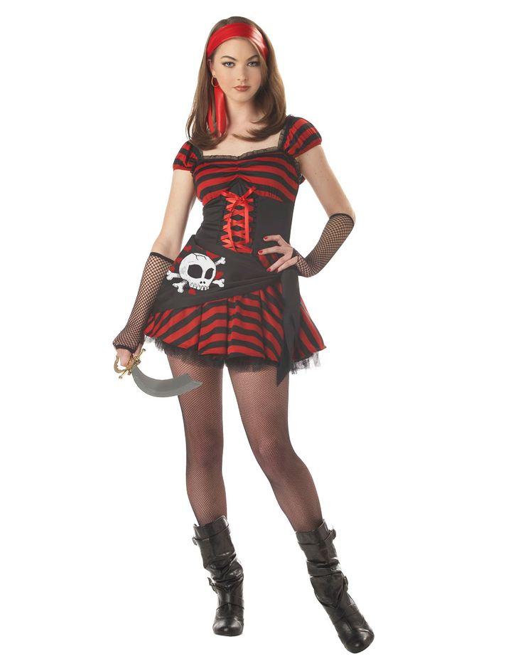 jewel of the sea teen costume pirate halloween - Teenage Girl Pirate Halloween Costumes