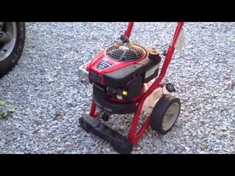 Its May 7 2014. Today I purchased a brand new Troy Bilt 2700 psi pressure washer from Lowes which is a sharp piece of gear, to bad it is a big piece of shit!  After a hour of use cleaning my deck it shut off 3 times. Come to find out its a common failure with this Troy Bilt Pressure washer.