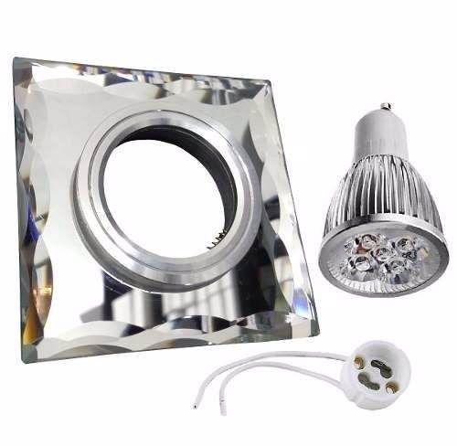 Kit Spot Espelhado Completo Super Led 5w Spot + Led +soquete - R$ 19,88 em Mercado Livre
