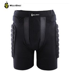 WOSAWE XS-3XL Outdoor Sports Ski Skate Snowboarding hip protector Skiing Skating Protective Hip Padded Shorts  BC305