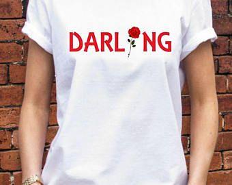 Darling FLower Rose woman shirt